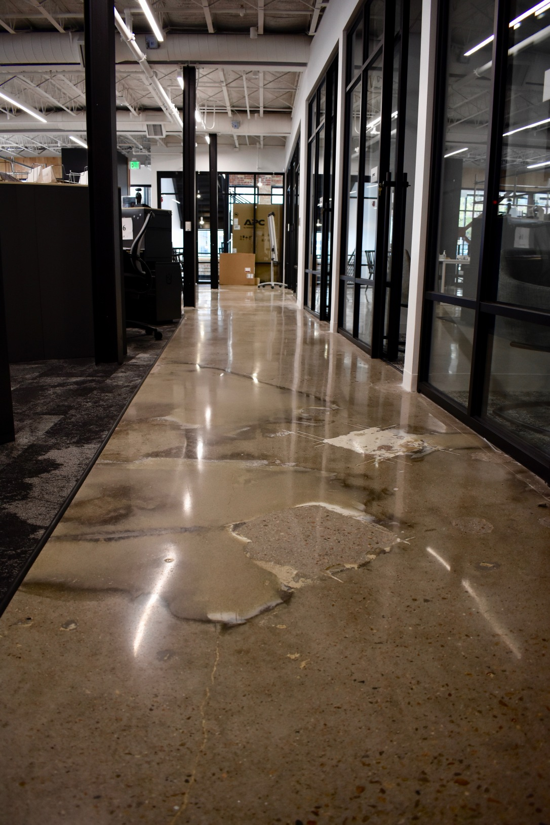 Polished Concrete Downtown Denver